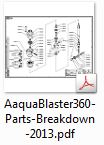 AaquaBlaster360-Parts-List
