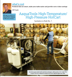 HotCart article written in Wine Business Monthly