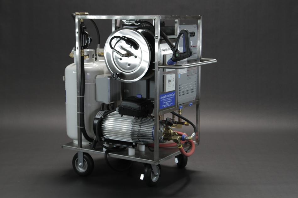 HotCart Portable Propane Fired Hot High Pressure Washer